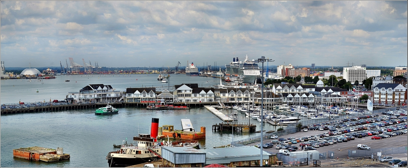 Robert Pittman - Southampton Docks