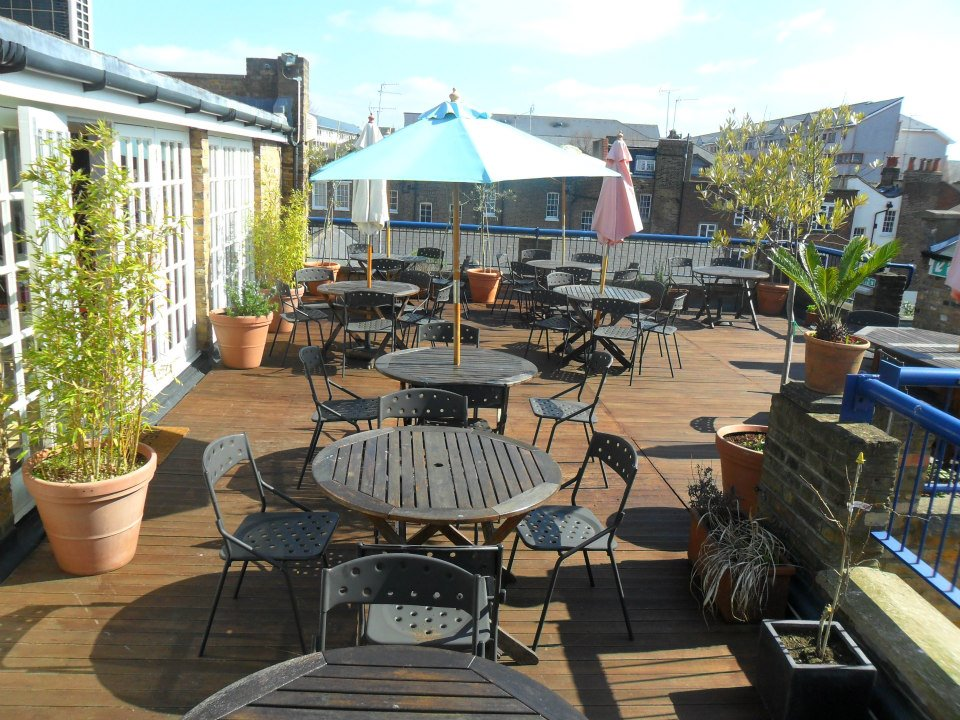 rooftop kitchen london