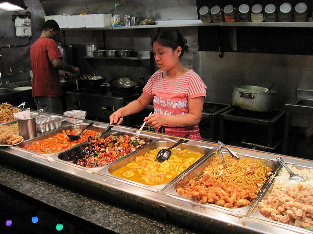 Snapshooter46 - Chinese food stall at Camden Market