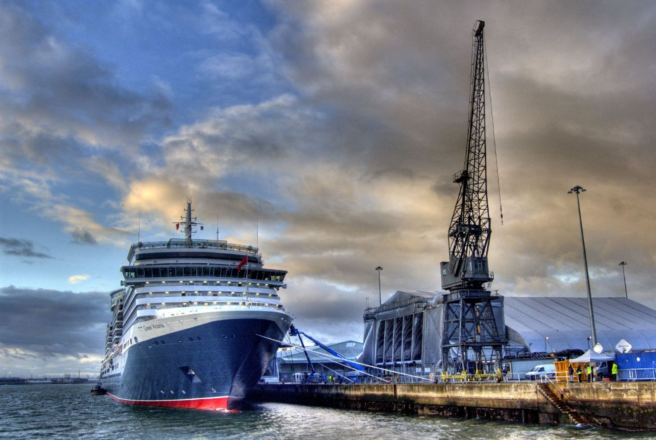 Steve - Queen Victoria, Southampton