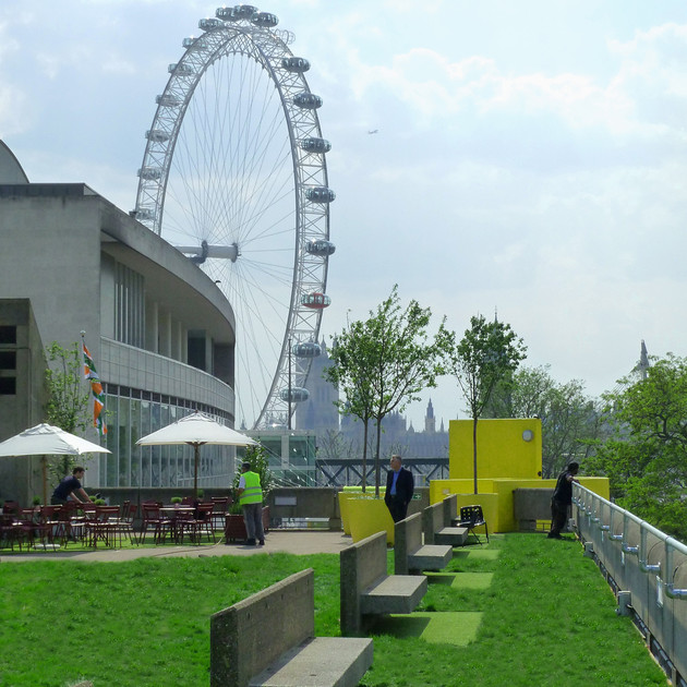 The Queen Elizabeth Hall Roof Garden
