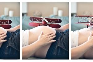 volar embarazada
