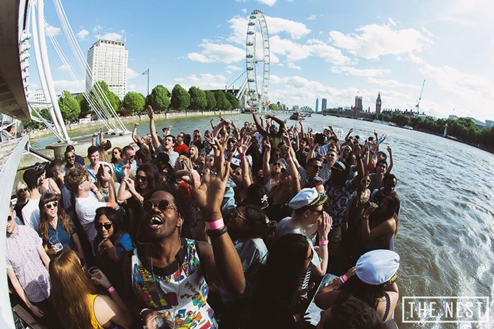 the nest 3 boat party london