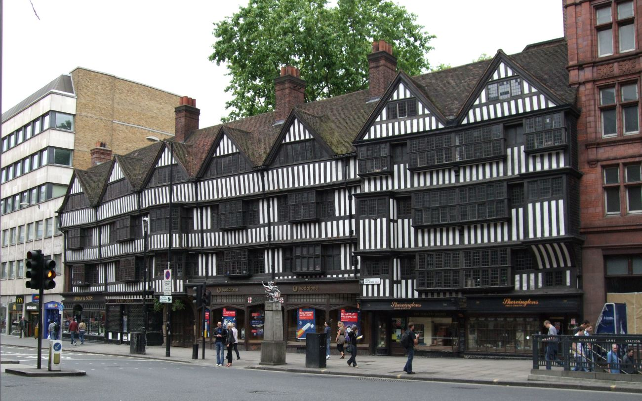 Jim Linwood - Staple Inn, High Holborn, London