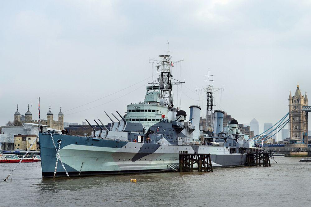 Robert Pittman - HMS Belfast.