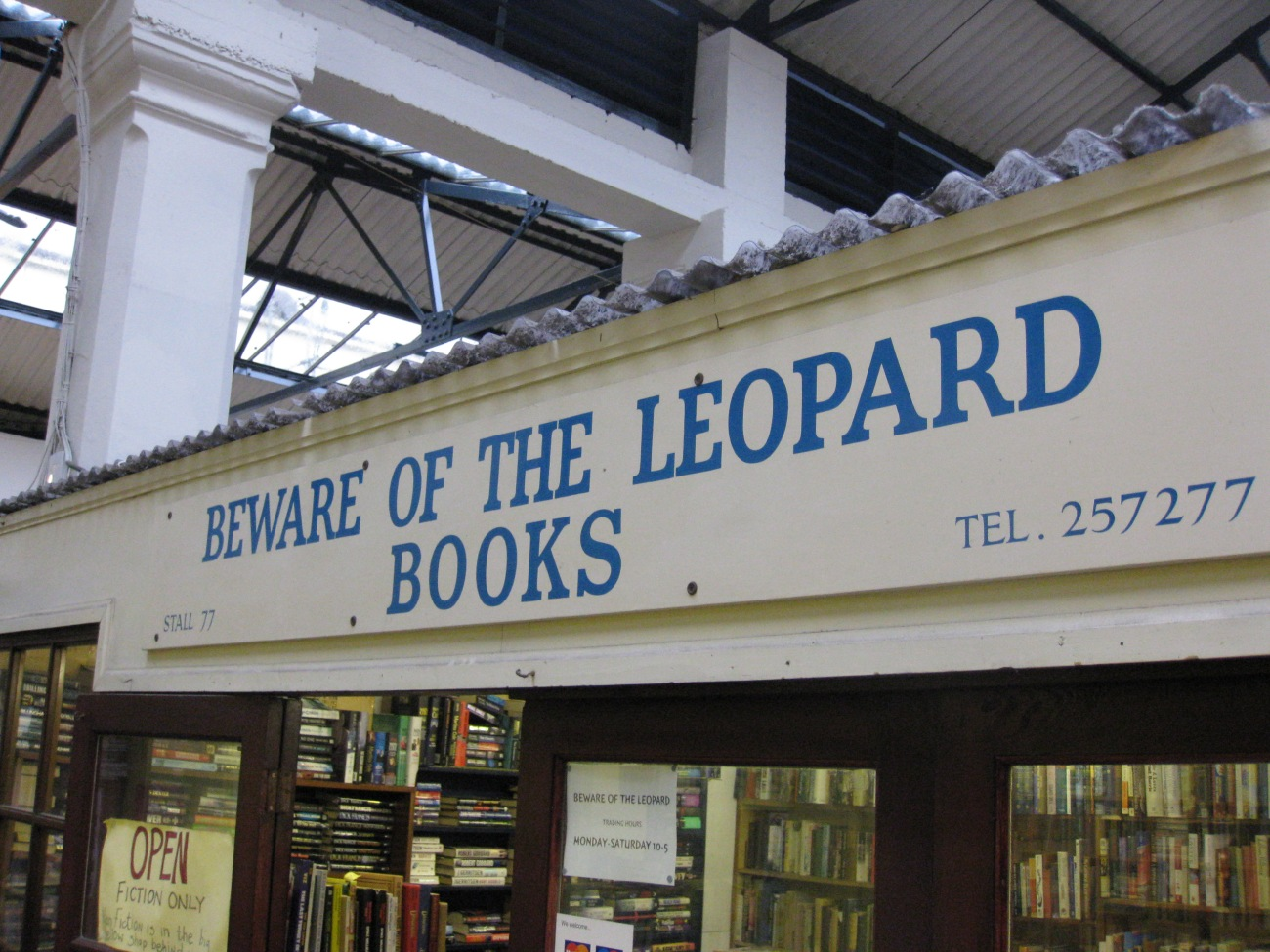 Owen Barritt -  Beware of the leopartd books