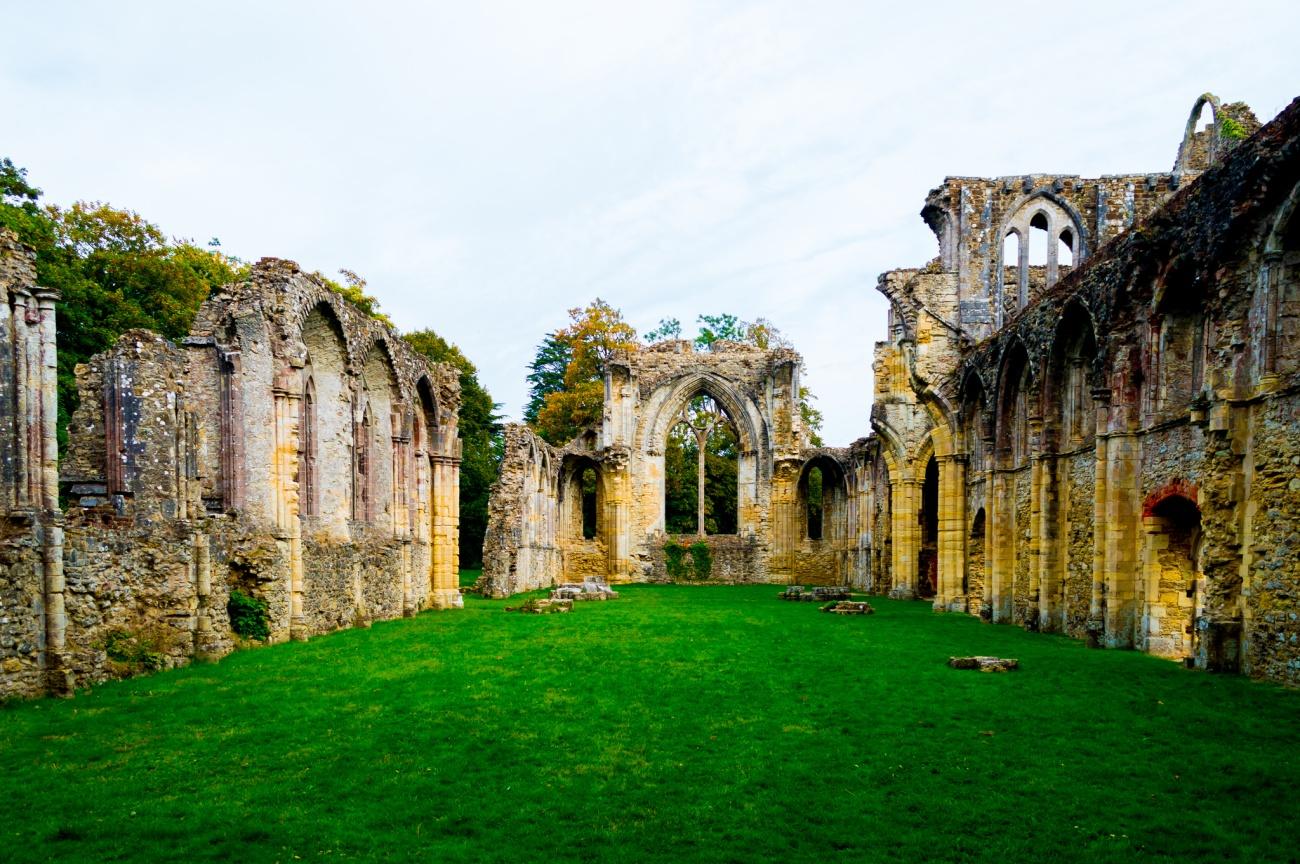 JackPeasePhotography - Netley Abbey Ruins