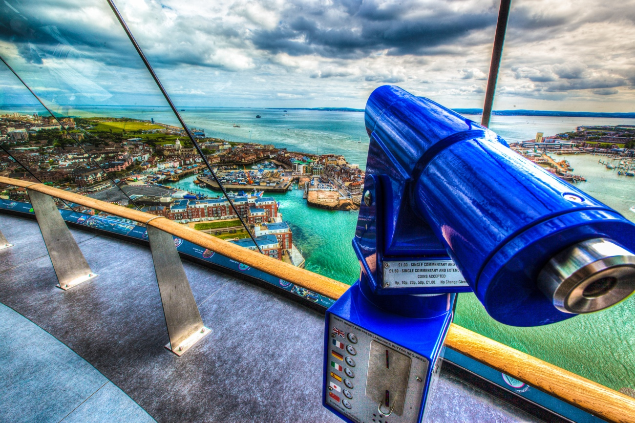 Portsmouth from The Spinnaker - alphageek