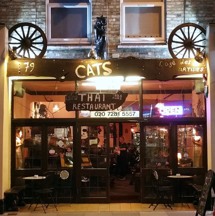 Café des Artistes Thai London