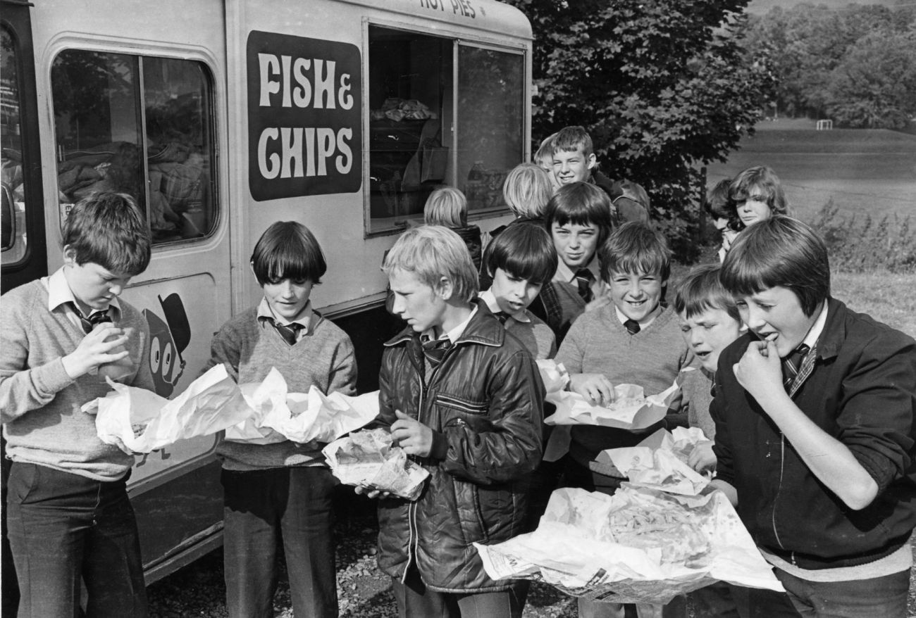 old times fish and chips