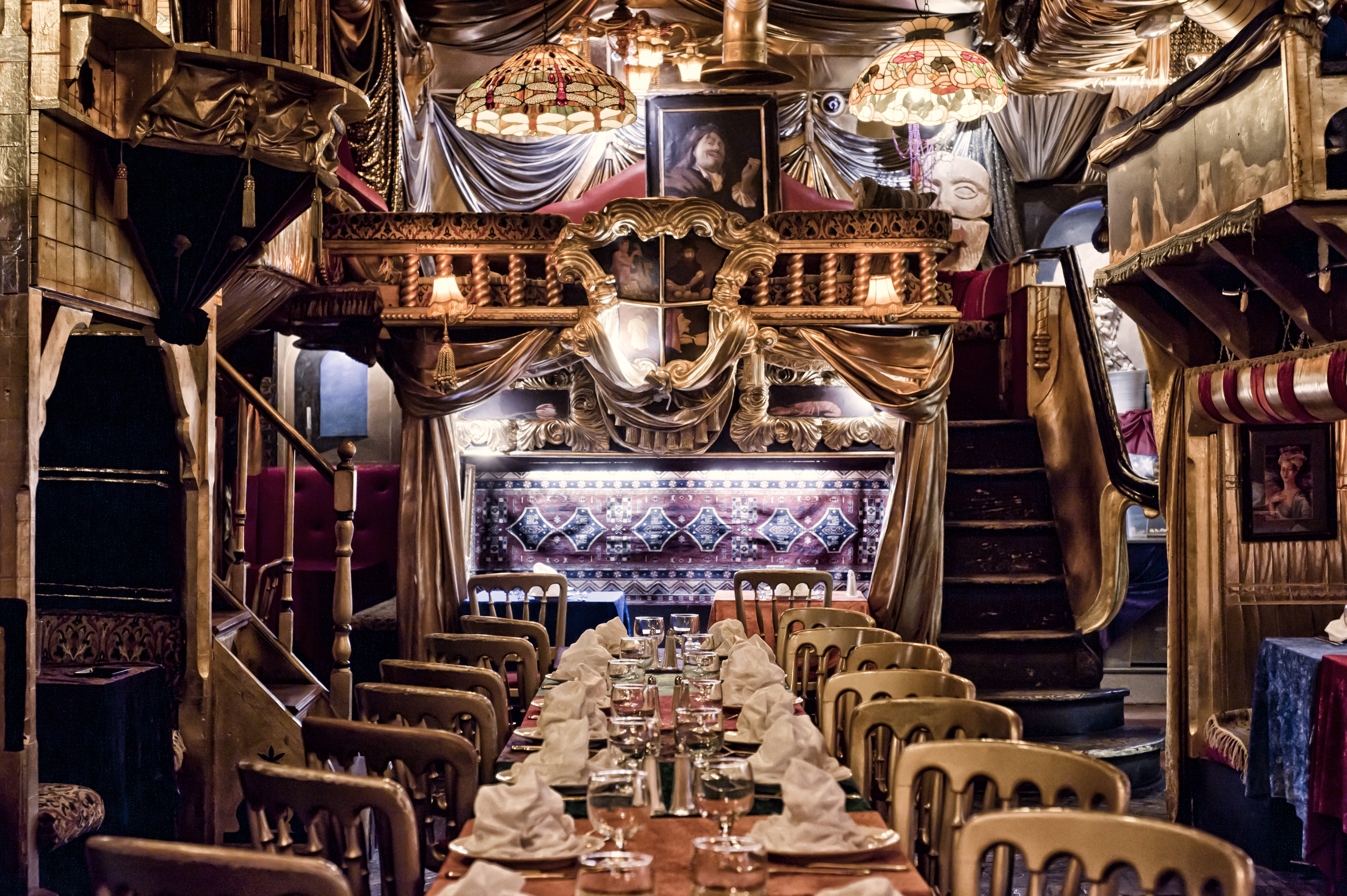 191 Hambrientos 10 Peculiares Restaurantes De Londres Que No