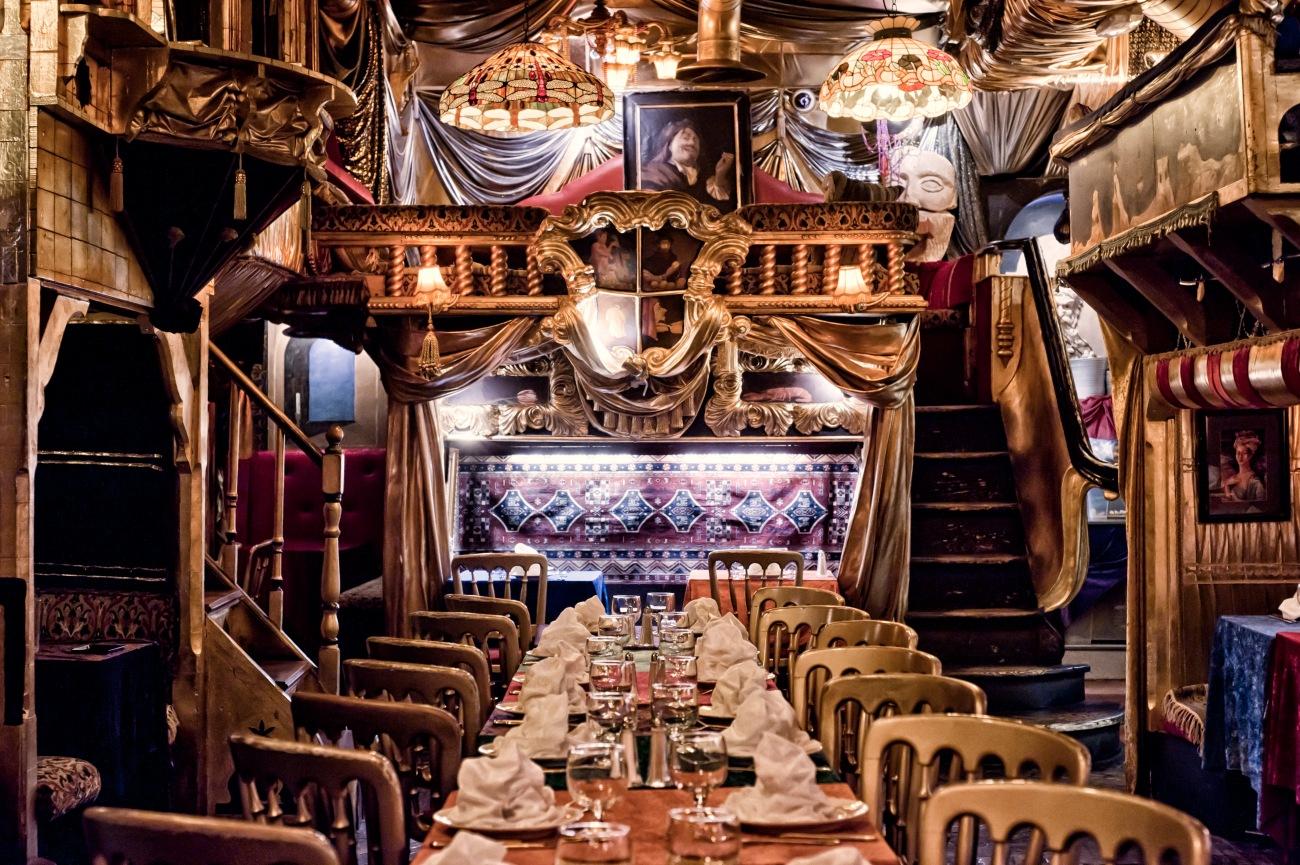 Sarastro restaurant Londres