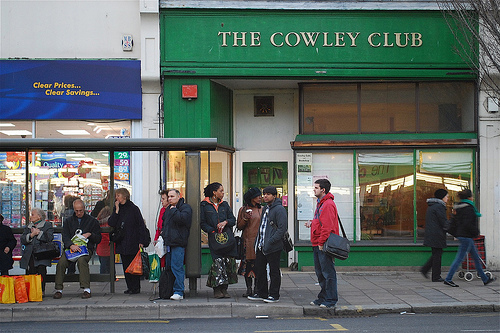 8. The Cowley Club