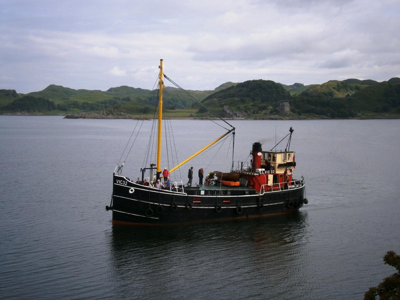Crucero por el Canal Crinan