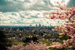 Adrian Snood -- London Skyline