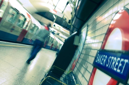 London - Red Blue