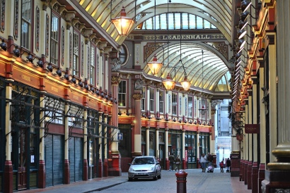 Loco Steve -- Leadenhall market london