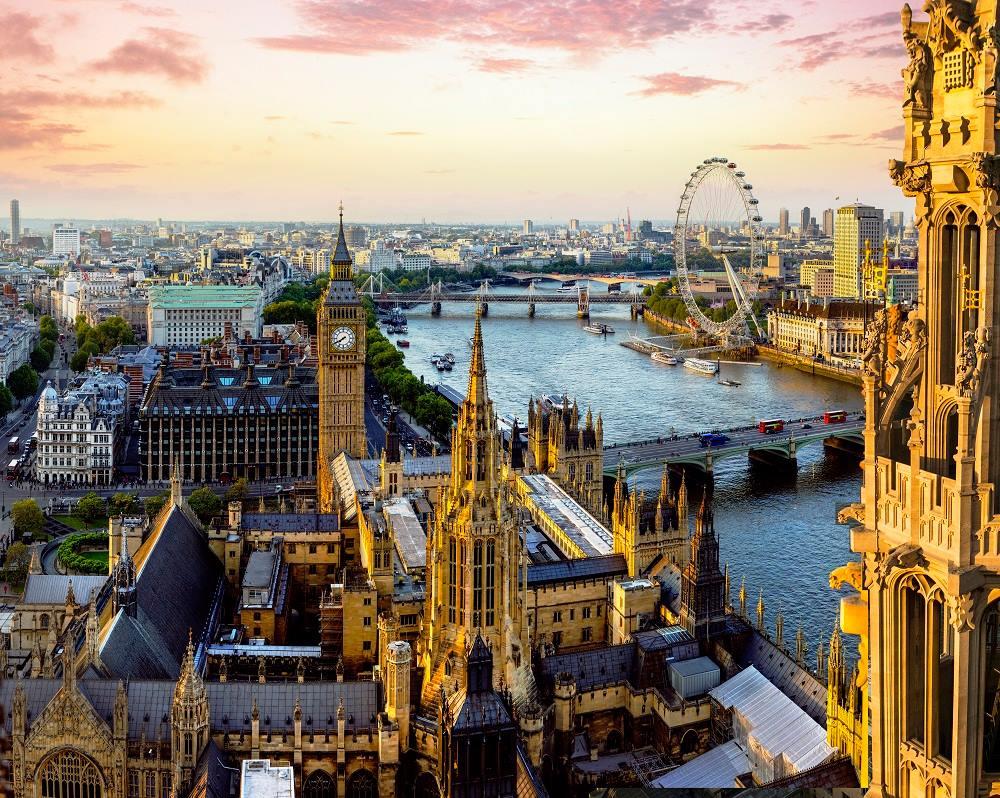 Londres desde la abadía de Westminster