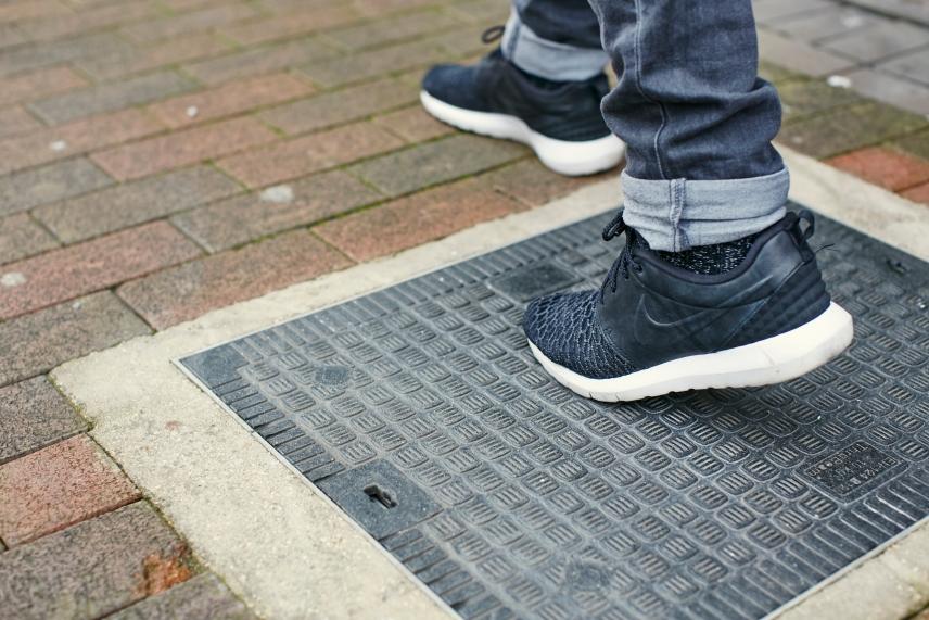 WiFi bajo los pies