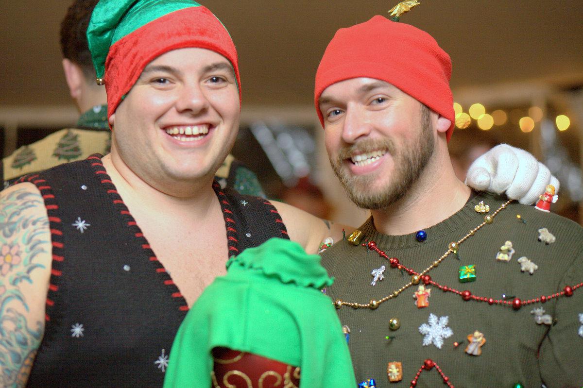 Jersey con motivos navideños