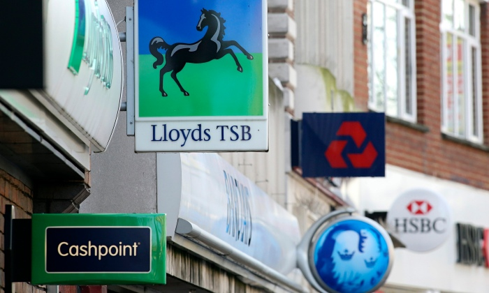 bancos reino unido