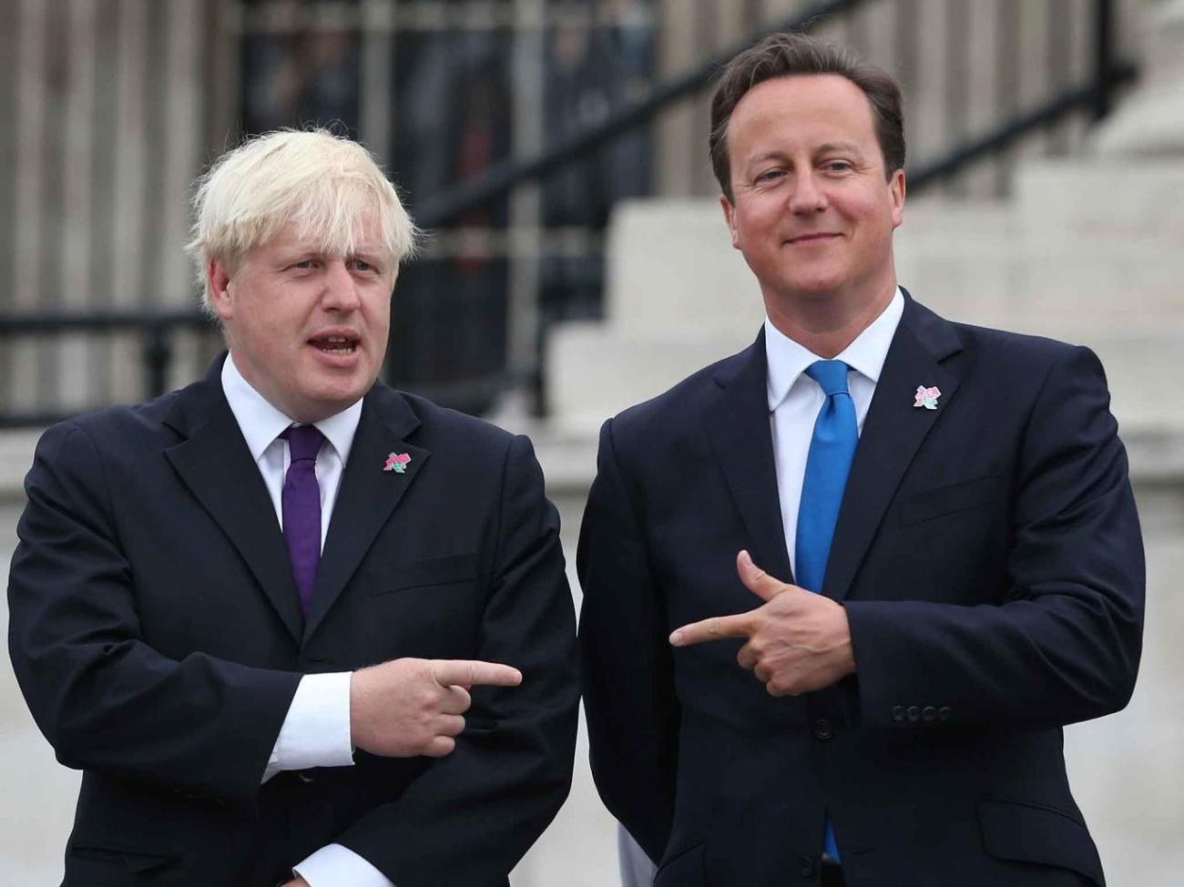 Boris Johnson & David Cameron