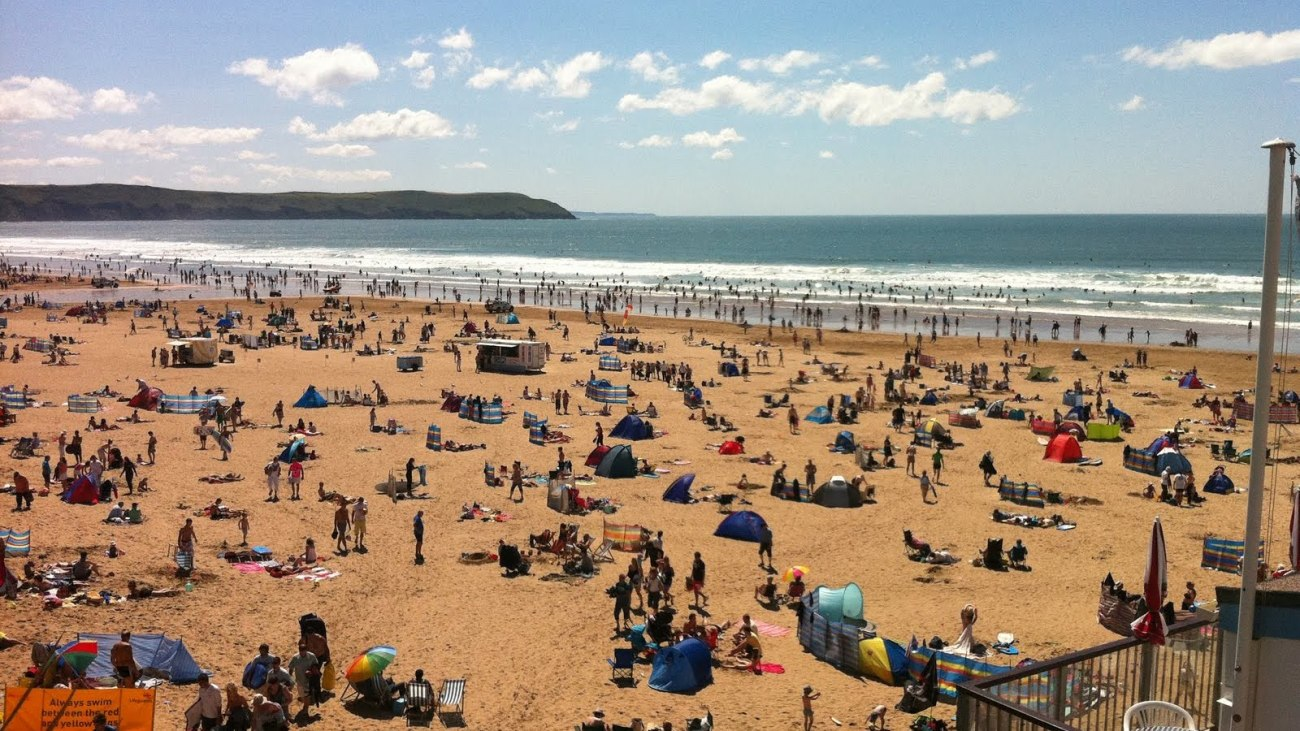 Imagen 1. Woolacombe Beach