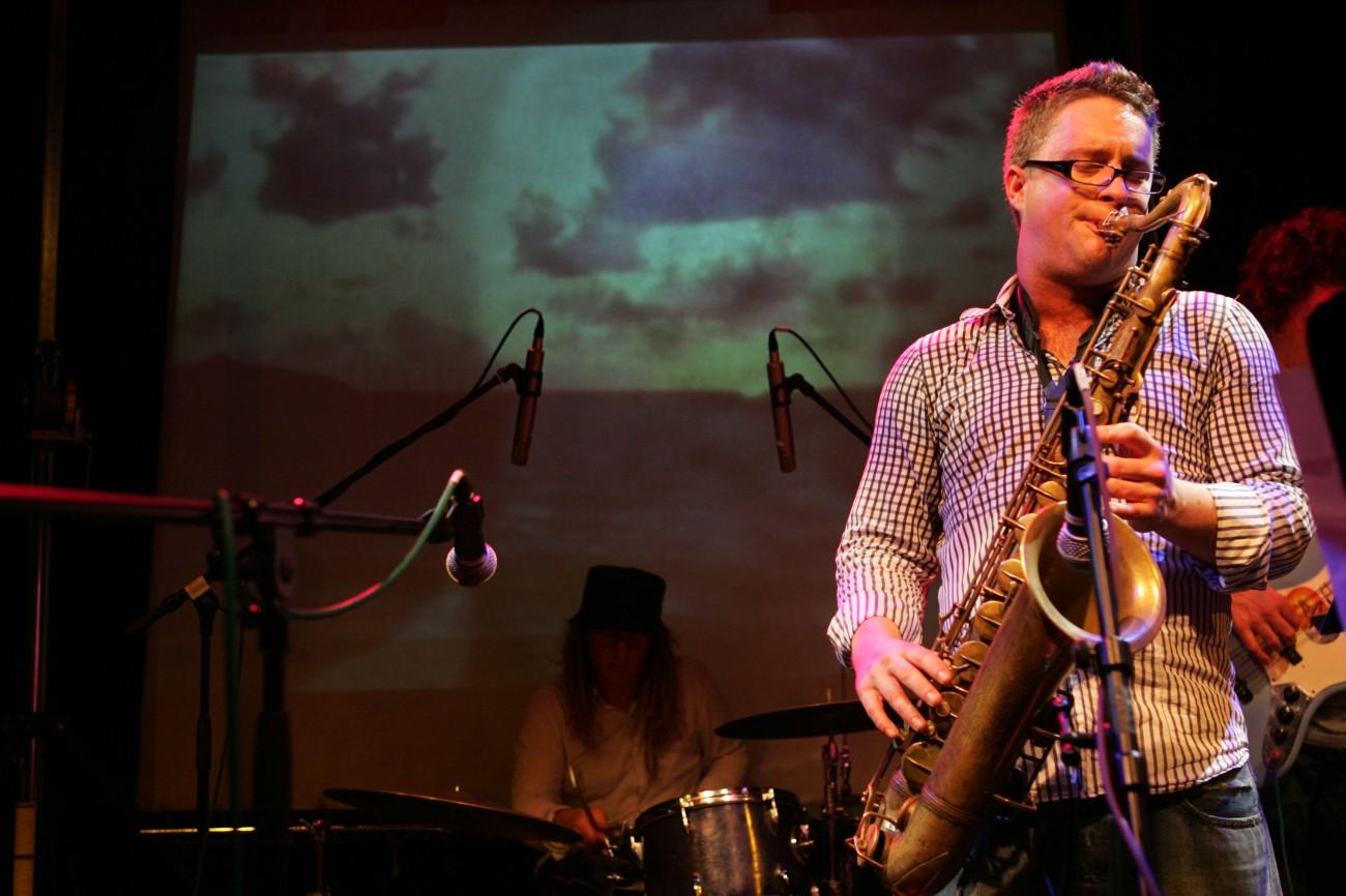 Imagen 5. Nick Dover en Be Bop Club, Hotwells, Bristol