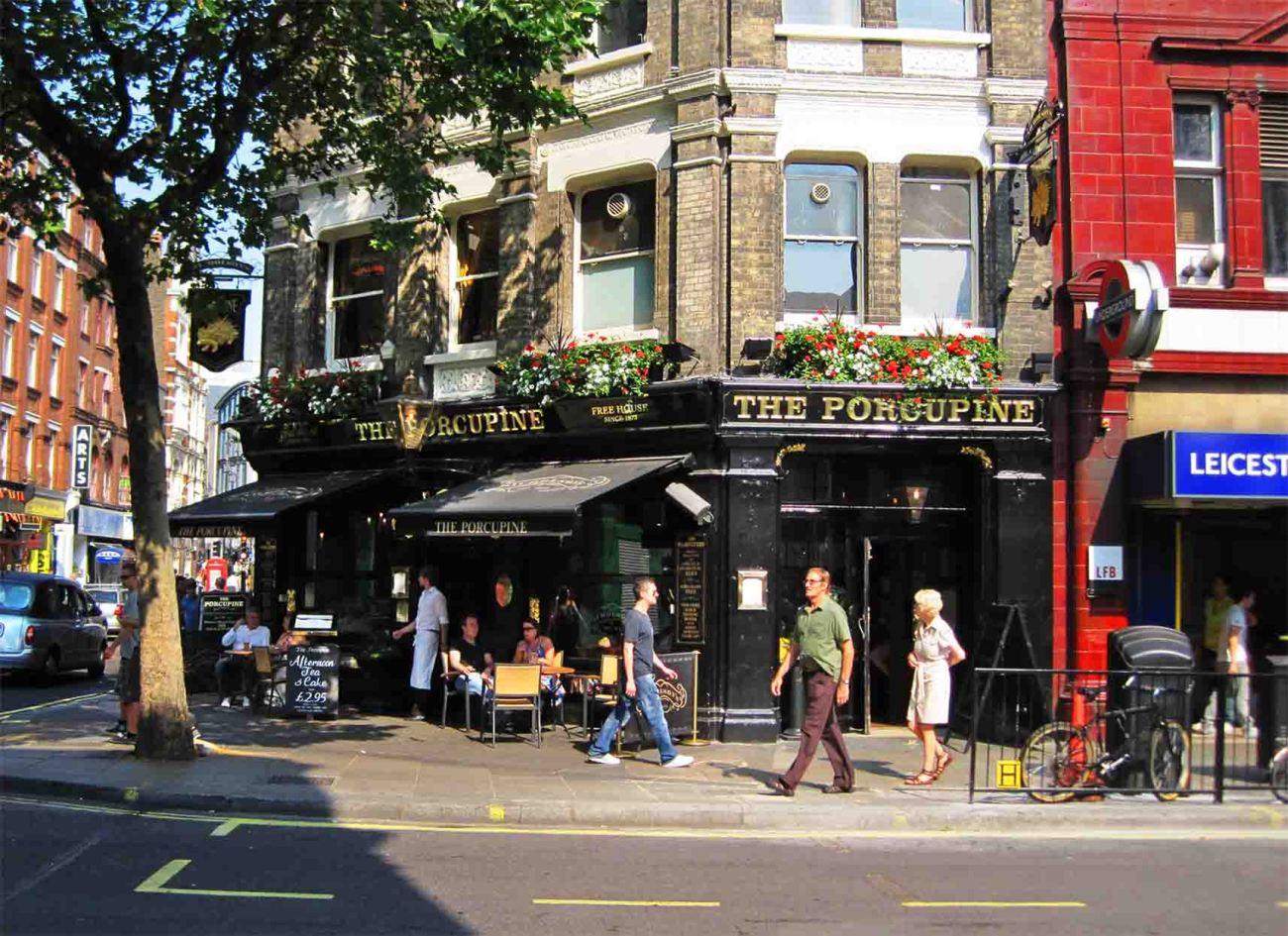 Charing Cross Road, en Londres, es otra de las localizaciones de las películas de Harry Potter