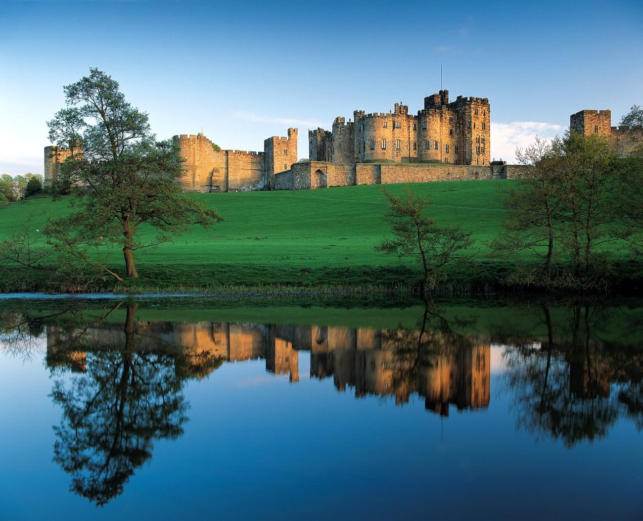 El Castillo de Alnwick, una de las localizaciones de Harry Potter en Reino Unido