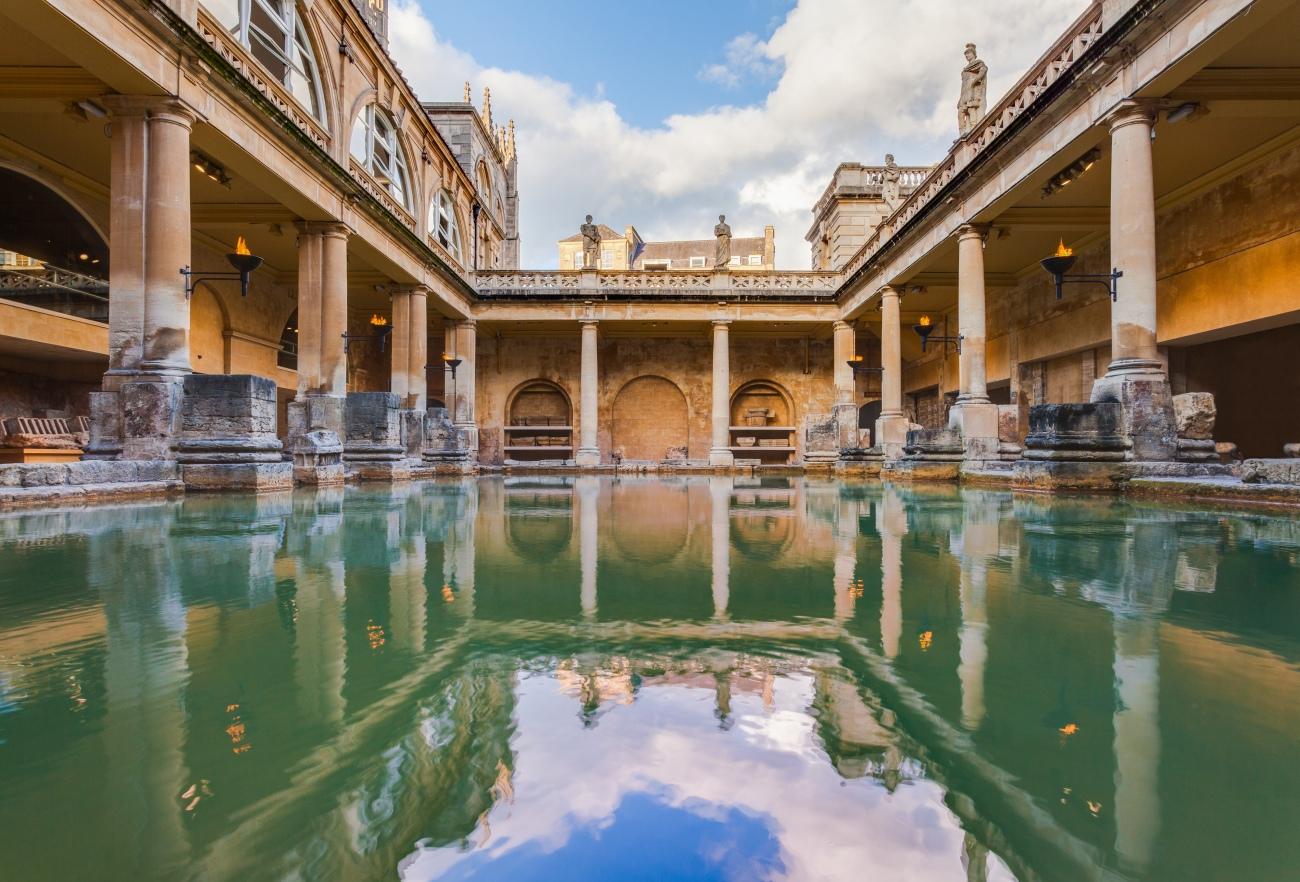Las termas romanas de Bath