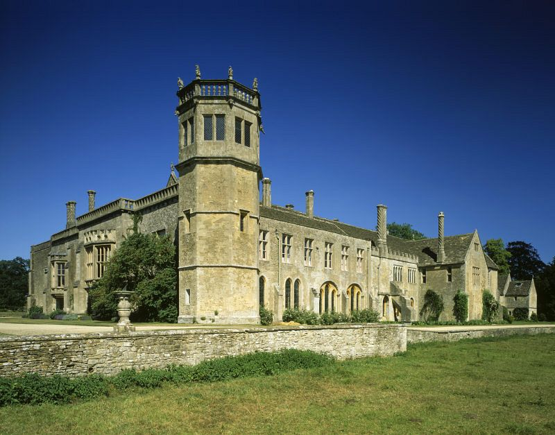 La abadía de Lacock fue filmada para una escena de Harry Potter