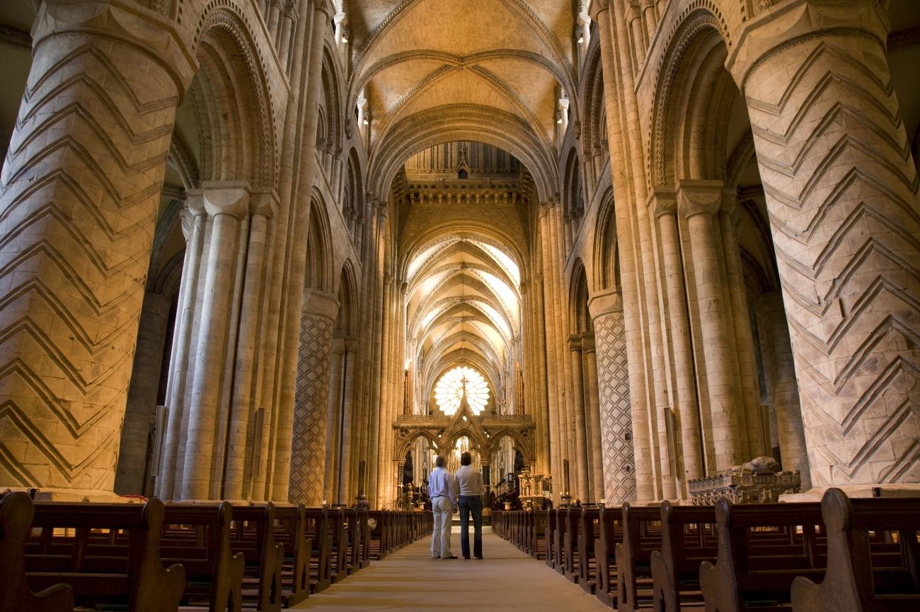 La catedral de Durham, uno de los escenarios de Harry Potter