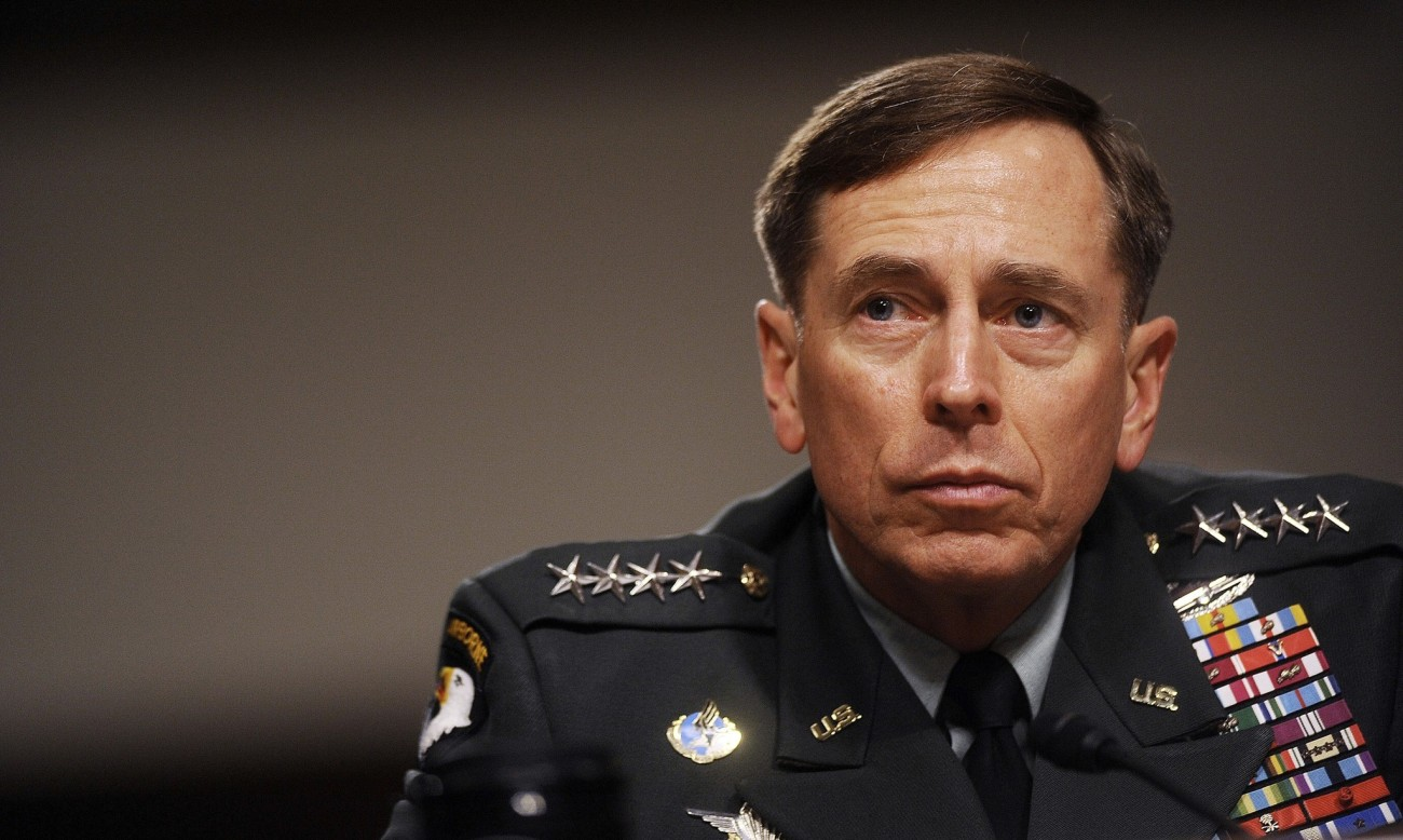 David Petraeus resigns from CIA