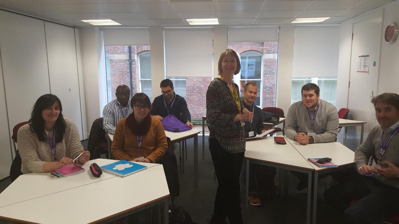 Curso de inglés para arquitectos 'English for Construction' de NCG en Manchester