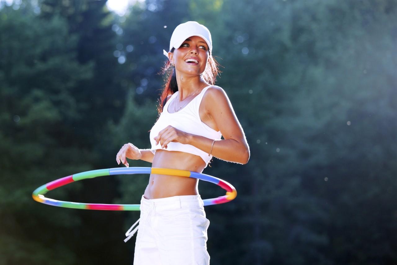Actividad con hula hoop en Londres