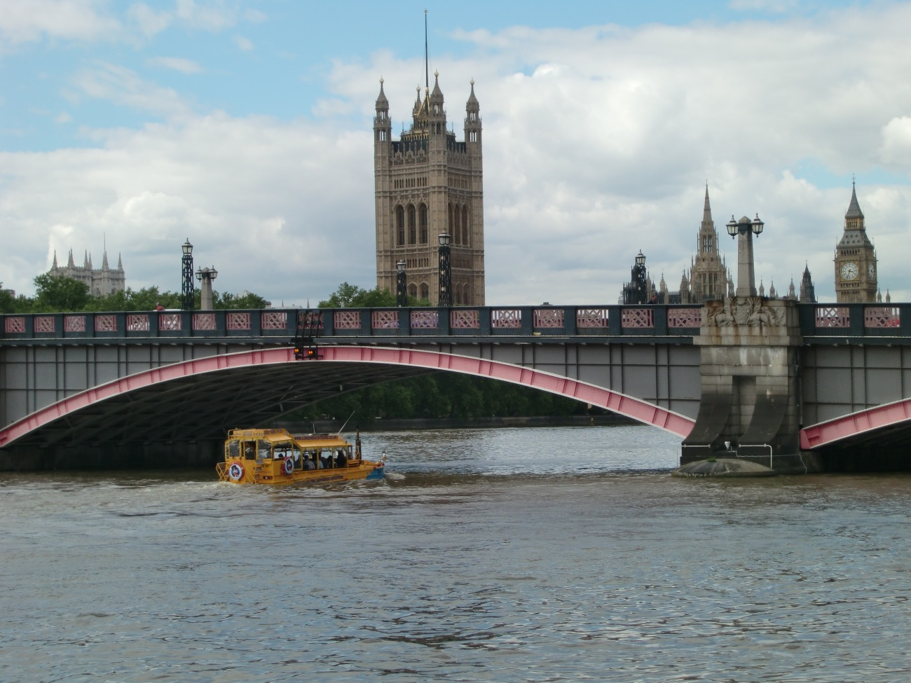 El puente Lambeth, en Londres, fue elegido para rodar una escena de Harry Potter