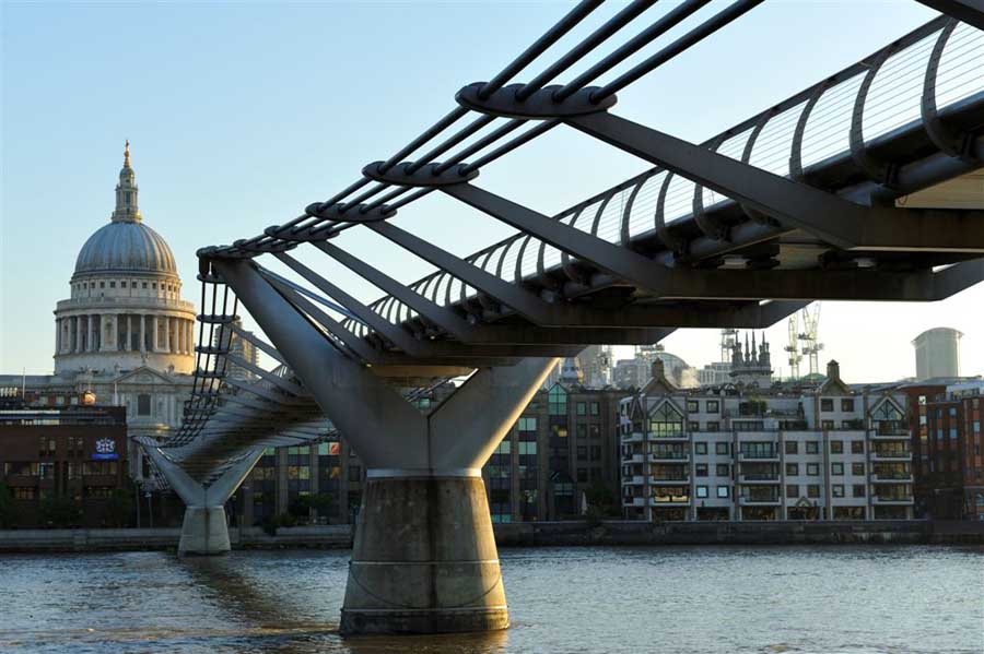 El Millennium Bridge de Londres aparece en Harry Potter