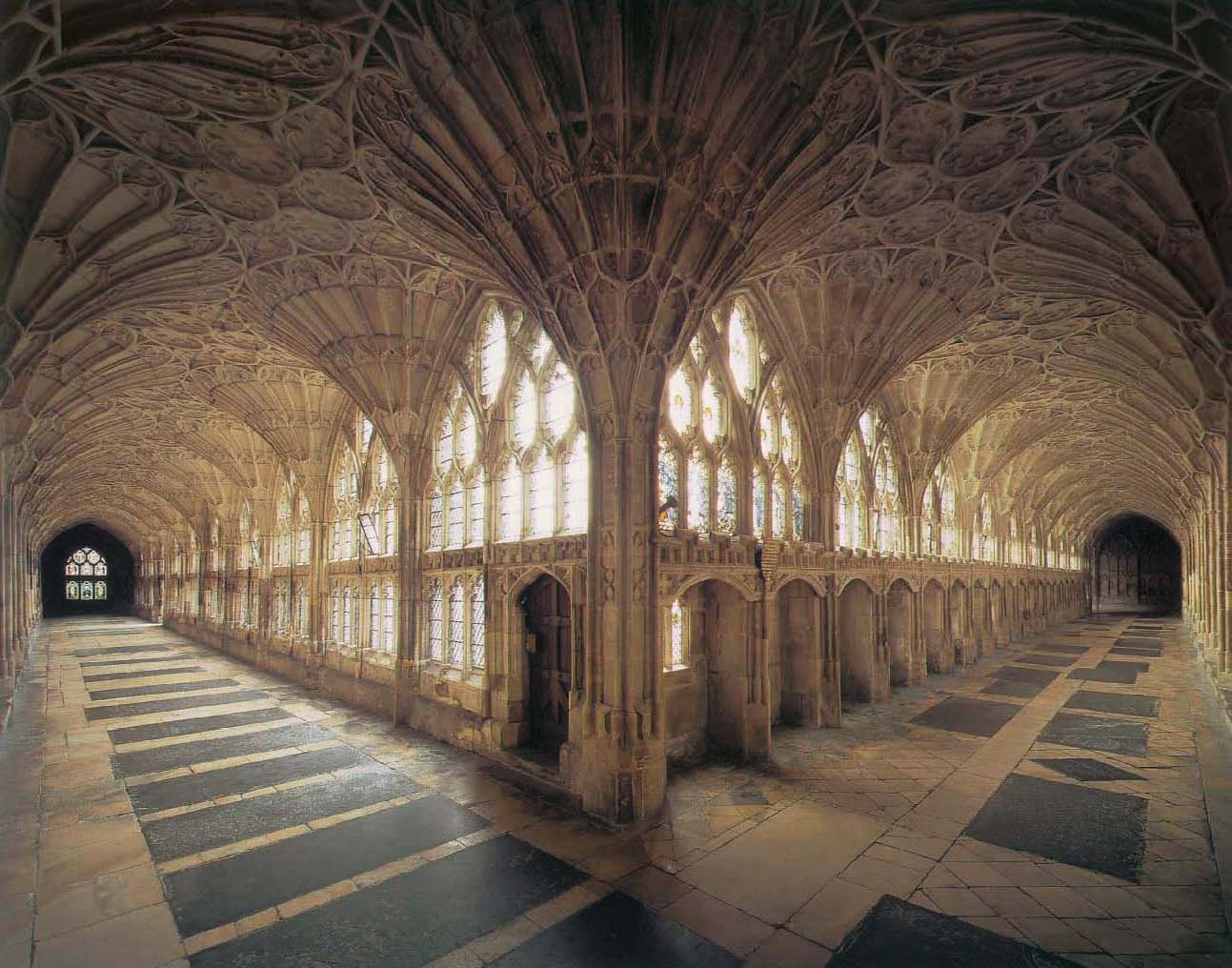 La catedral de Gloucester aparece en las películas de Harry Potter