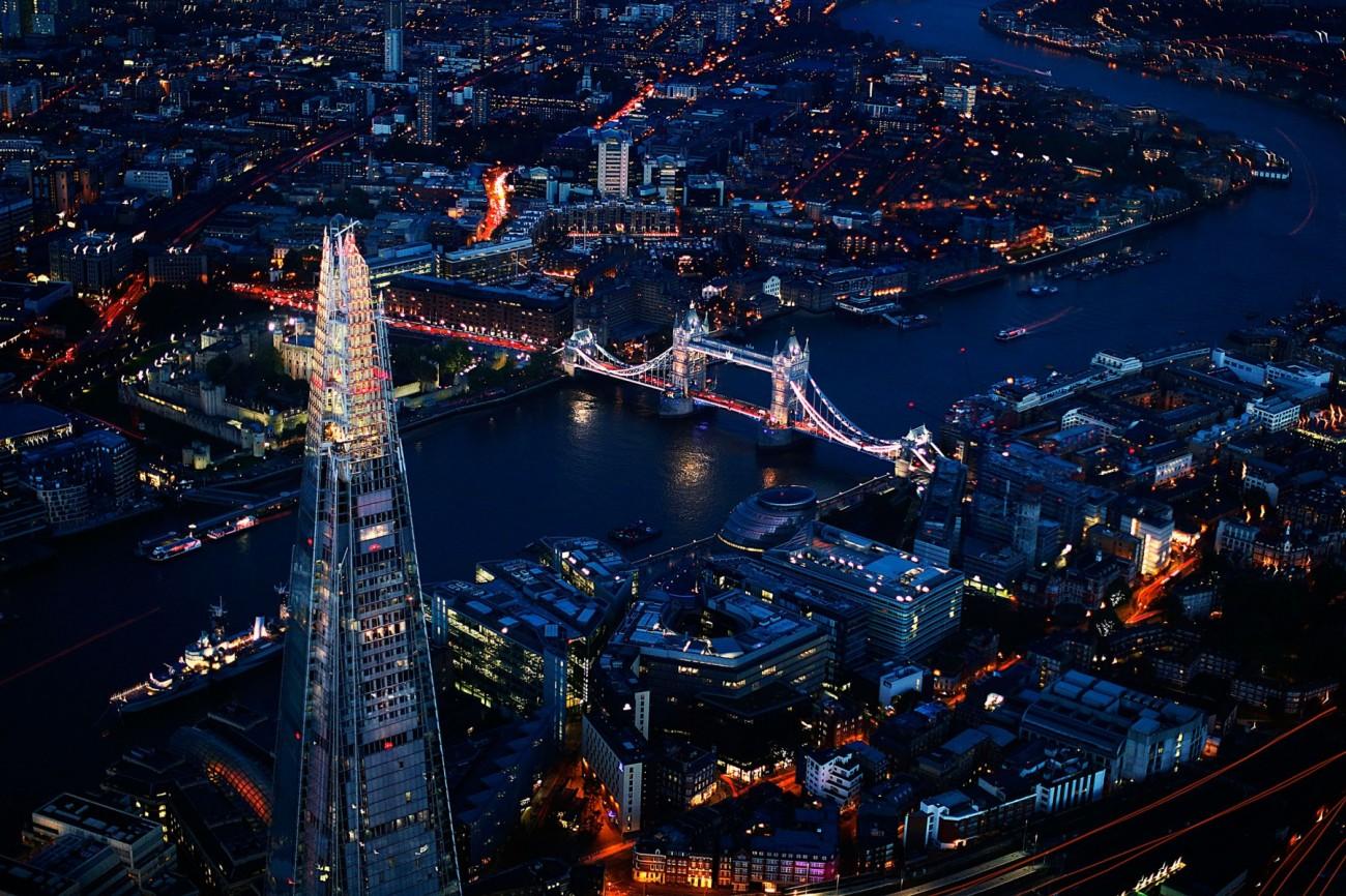 Londres, de noche