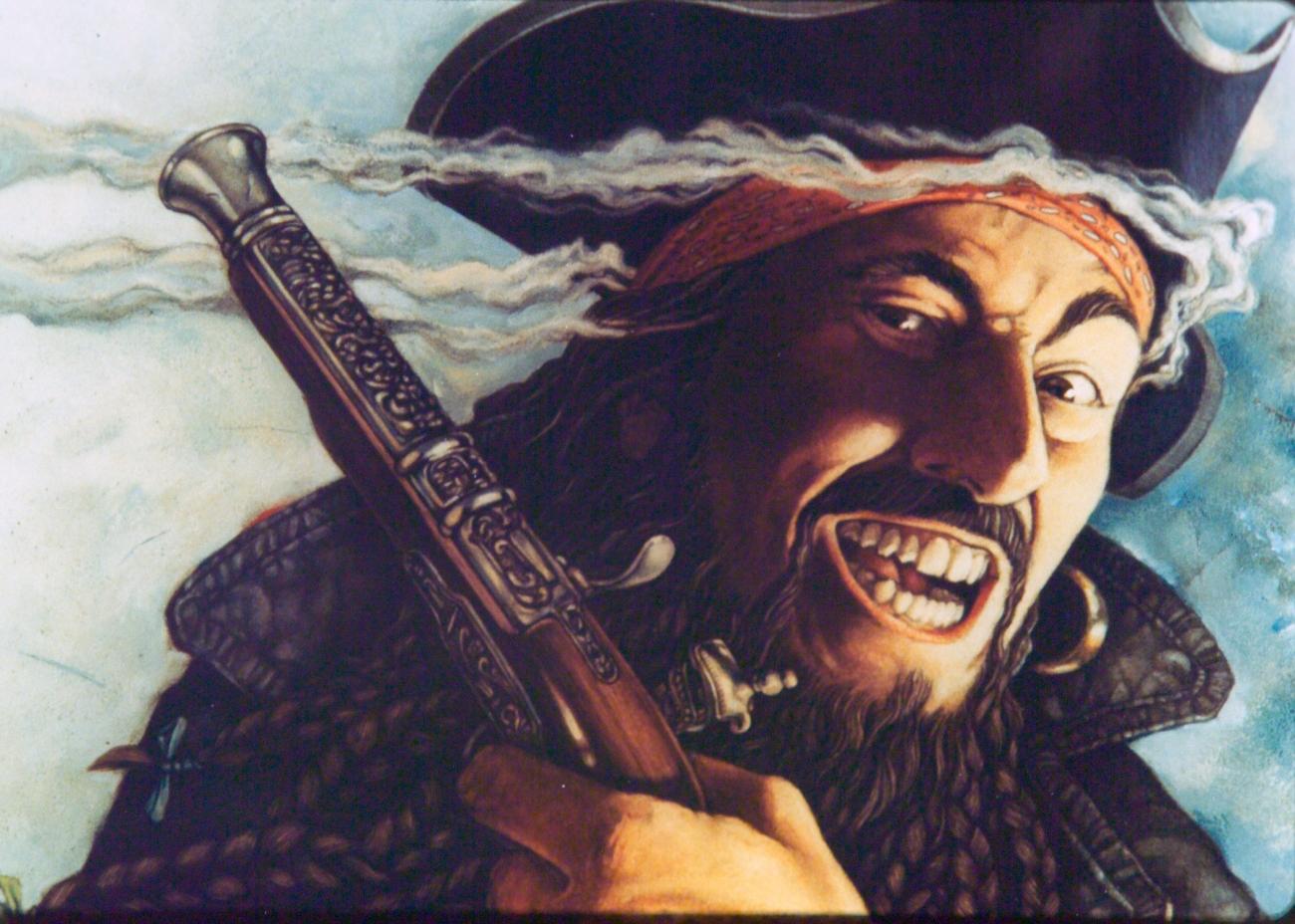 El pirata Blackbeard surgió en Bristol