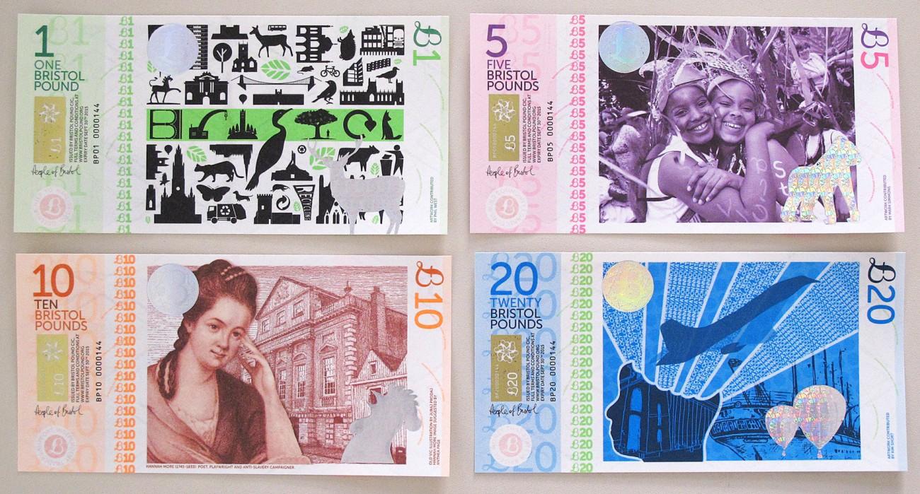 Bristol Pound, la moneda propia de Bristol