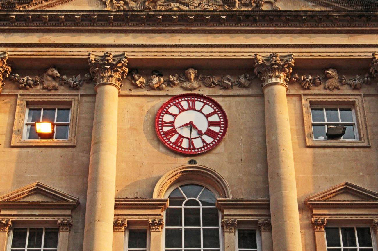 El reloj de St Nicholas Market, en Bristol