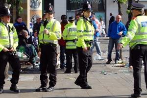 La policía británica no lleva armas