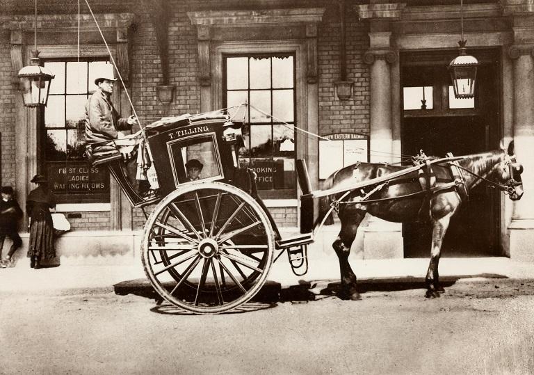 Hackney Carriages fue el origen de los taxis londinenses
