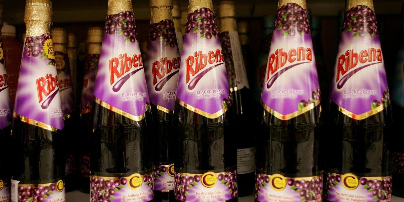 La bebida Ribena fue inventada en Bristol
