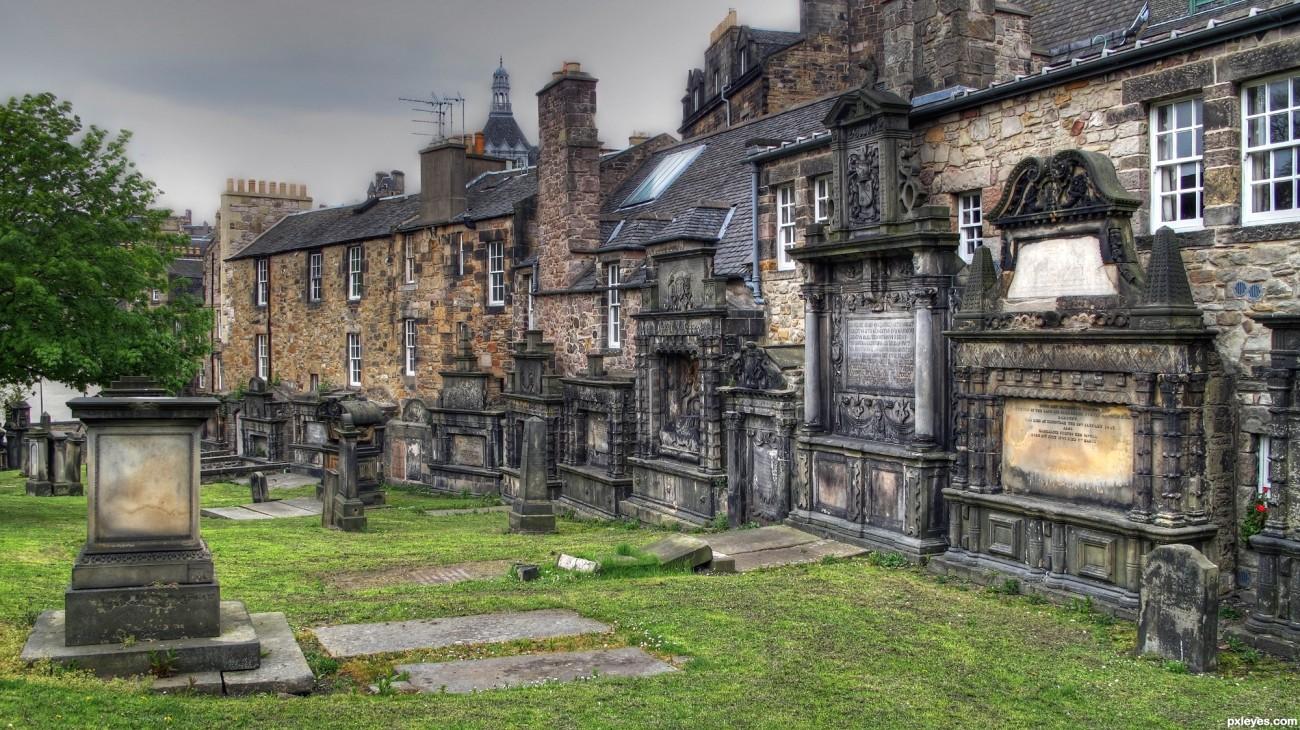 Greyfriars Kirkyard, en Edimburgo