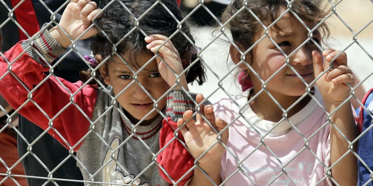 JORDAN-SYRIA-CONFLICT-AID-REFUGEE