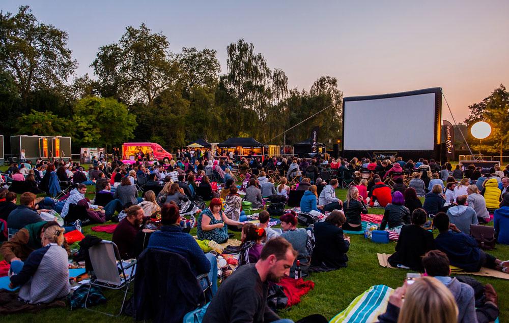 Cine al aire libre en el Summer Festival de Londres