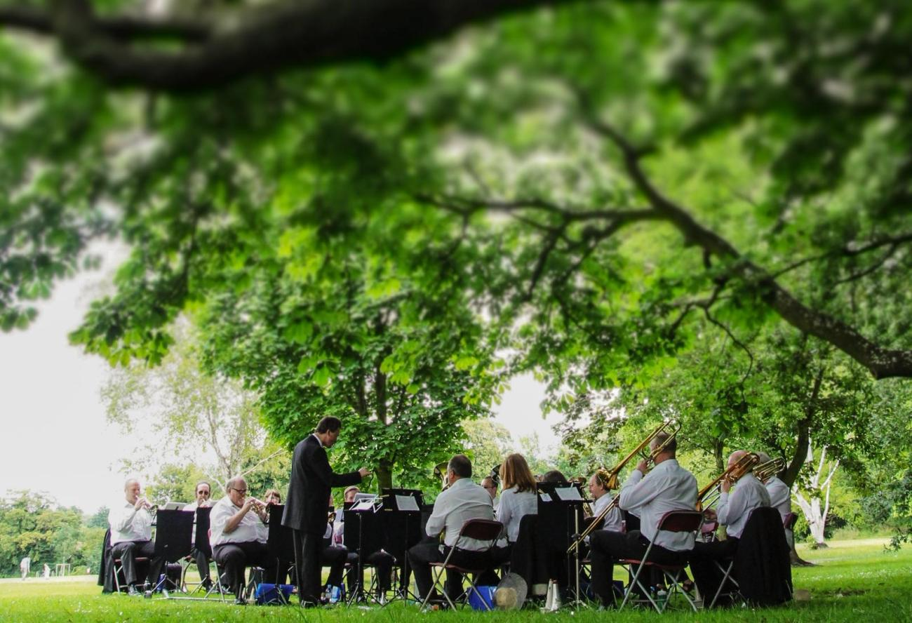 Jazz and Brass in the Parks, Cambridge